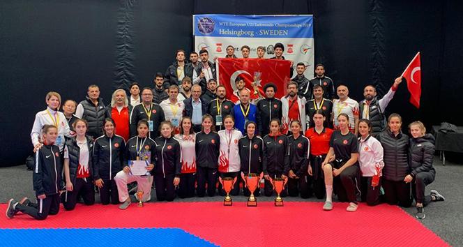 14 0d673046 3c6b 4d8c 8fb4 e15ddd84c28e - Türkiye, Avrupa Ümitler Taekwondo Şampiyonası'nı 12 madalya ile tamamladı