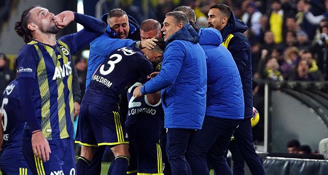 14 50f7aef0 edb1 4914 9cb5 8ae167e78be0 - Fenerbahçe farklı kazandı! Maç sonucu: Fenerbahçe 5 - 2 Gençlerbirliği