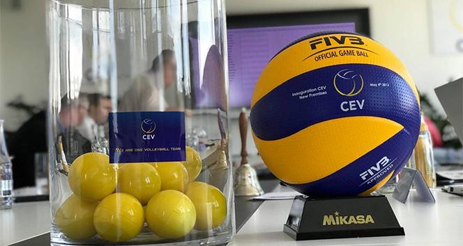 14 78133c5e 8ba0 47ee aee0 9b5787c0a506 - CEV Kupası ve Challenge Kupası ndaki Türk takımlarının rakipleri belli oldu
