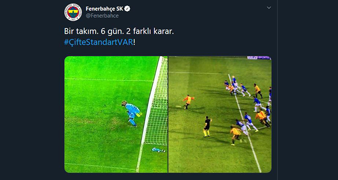 14 96e886cb 5235 40e7 82dc a5f743b1f01d - Fenerbahçe: 'Çifte standart var'