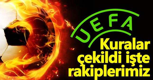 Beşiktaş, Fenerbahçe ve Akhisarspor'un UEFA Avrupa Ligi'ndeki rakipleri belli oldu.