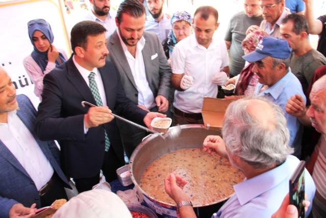 AK Parti'li Hamza Dağ; 'Cumhur İttifakının Devamını İstiyoruz'