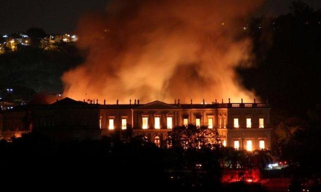 Brezilya'da yanan 200 yıllık müzede hangi eserler vardı?