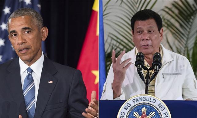Duterte'den Obama'ya: 'O. çocuğu' dediğim için üzgünüm, affet