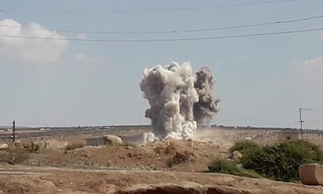 İdlib'e hava operasyonu