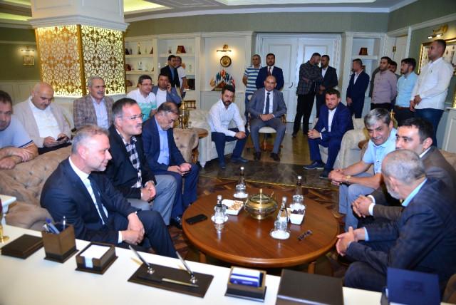 MHP'li Yıldırım'dan Başkan Ertürk'e Ziyaret