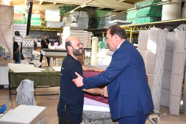 Milletvekili Karacan İşçilerle Bir Araya Geldi