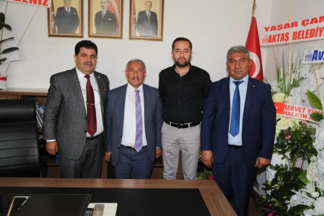 Niğde Belediye Başkanı Özkan'dan MHP İl Başkanlığı'na Ziyaret