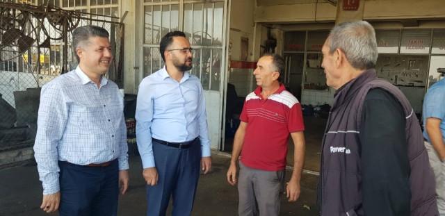 Özkan'dan Kula'ya Teşekkür Ziyareti
