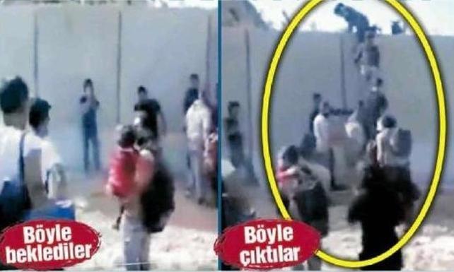 Suriyeli akınını duvar da durduramadı: Merdiven dayayıp geçiyorlar