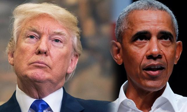 Trump'tan Obama'ya yanıt