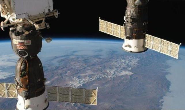 Uluslararası Uzay İstasyonu'ndaki astronotlardan oksijen kaçağına müdahale