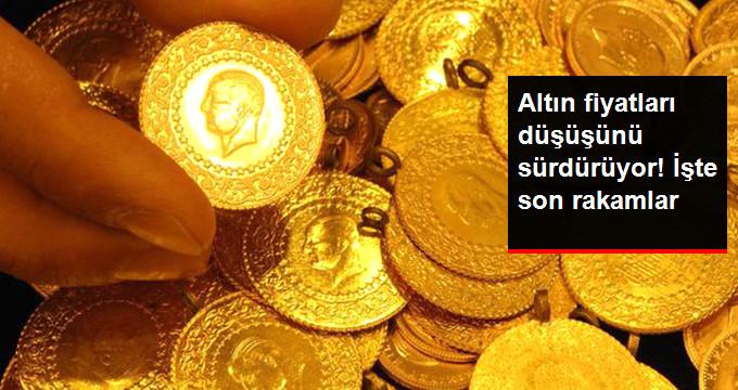 Altın Fiyatları Düşüşünü Sürdürüyor! İşte son rakamlar