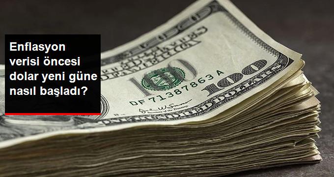 Enflasyon verisi öncesi dolar yeni güne nasıl başladı?