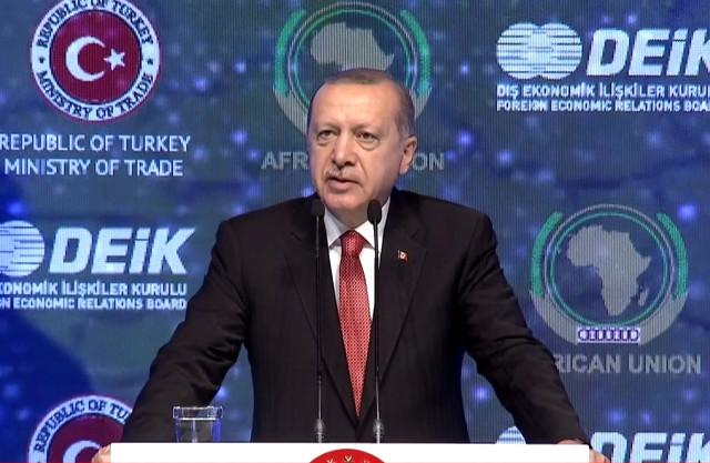 Erdoğan'dan Afrika ülkelerine tarihi çağrı: Gelin birlikte üretelim