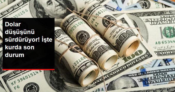 Dolar düşüşünü sürdürüyor! İşte kurda son durum