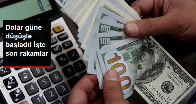 Dolar güne düşüşle başladı! İşte son rakamlar
