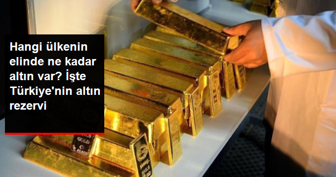Hangi ülkenin elinde ne kadar altın var? İşte Türkiye'nin altın rezervi