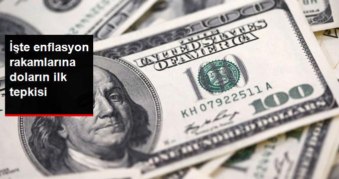 İşte Enflasyon Rakamlarına Doların İlk Tepkisi