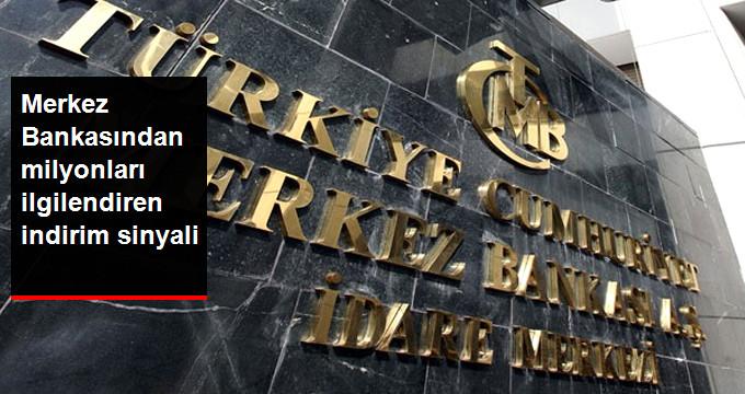 Merkez Bankasından Milyonları İlgilendiren İndirim Sinyali