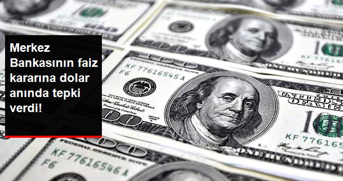 Merkez Bankasının faiz kararına dolar anında tepki verdi!