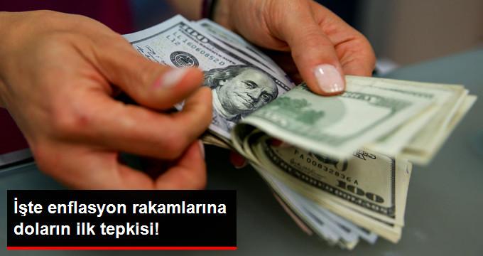 İşte enflasyon rakamlarına doların ilk tepkisi!