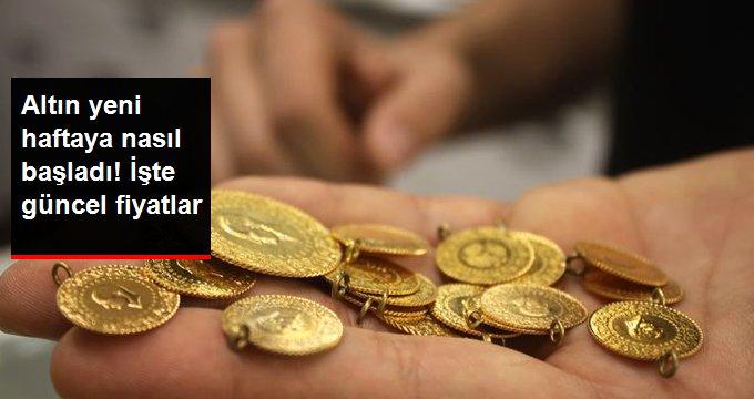 Altın yeni haftaya nasıl başladı!İşte güncel fiyatlar