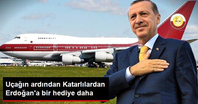 Uçağın ardından Katarlılardan Erdoğan'a  bir hediye daha