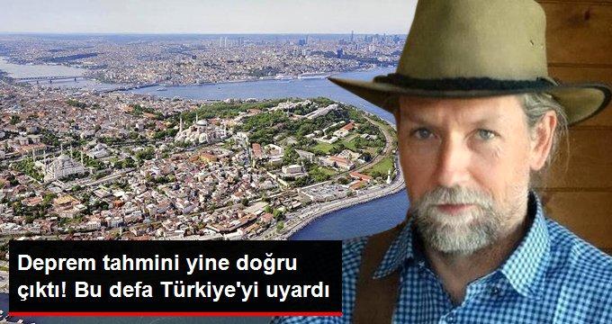 Deprem tahmini yine doğru çıktı! Bu defa Türkiye'yi uyardı